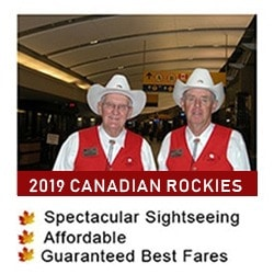 2019 Canadian Rockies Tours