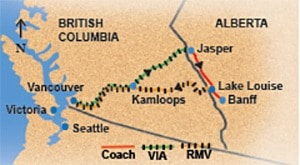 Circle Rail Tour from Vancouver