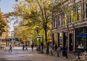 Vancouver Gastown sightseeing
