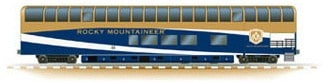 GoldLeaf Rail Car
