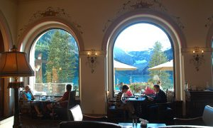 Lake Louise dining experience
