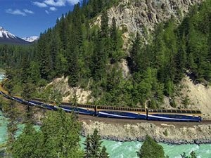 Rocky Mountaineer train trip