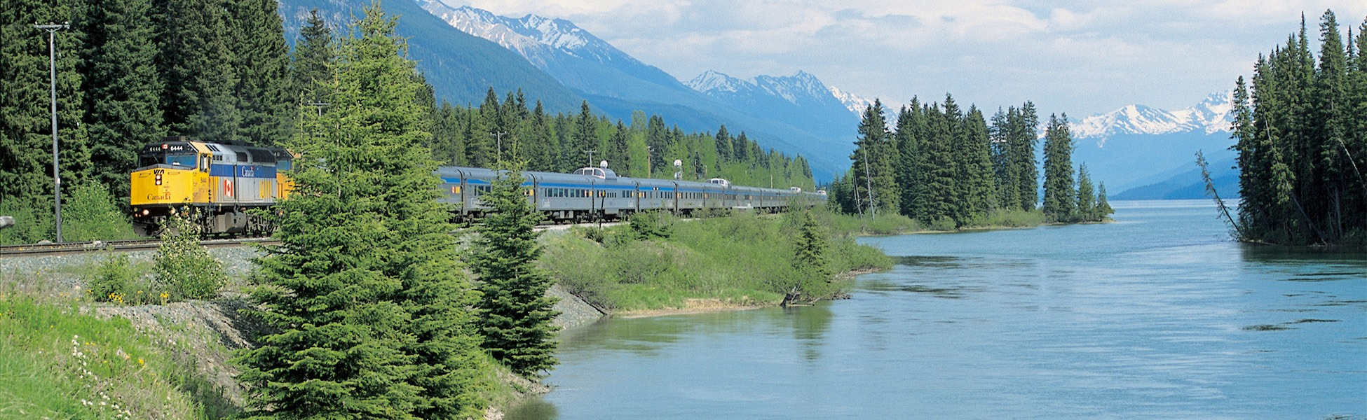 Via Rail Journery from Toronto and Vancouver