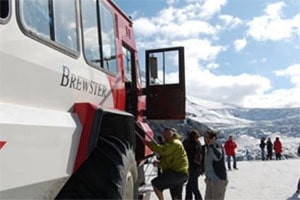 Ice Explorer tour in the Jasper National Park