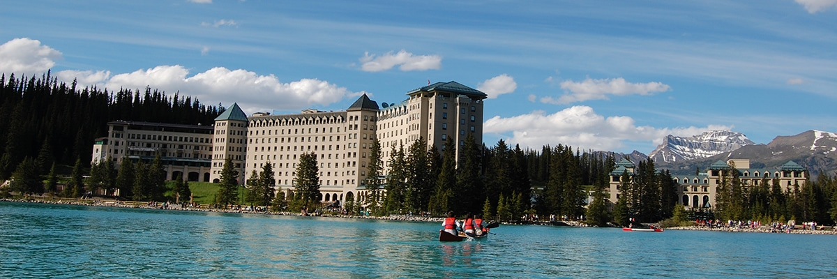 Lake Louise canoeing