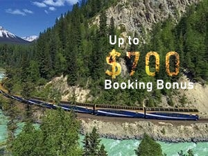 Early Booking Bonus - Rocky Mountaineer